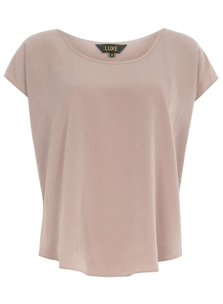Luxe Dusty Pink Batwing Top - £25