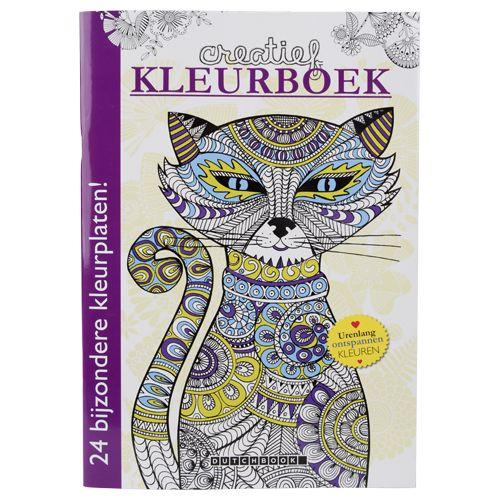 creatief kleurboek voor volwassen - Action Belgium BVBA