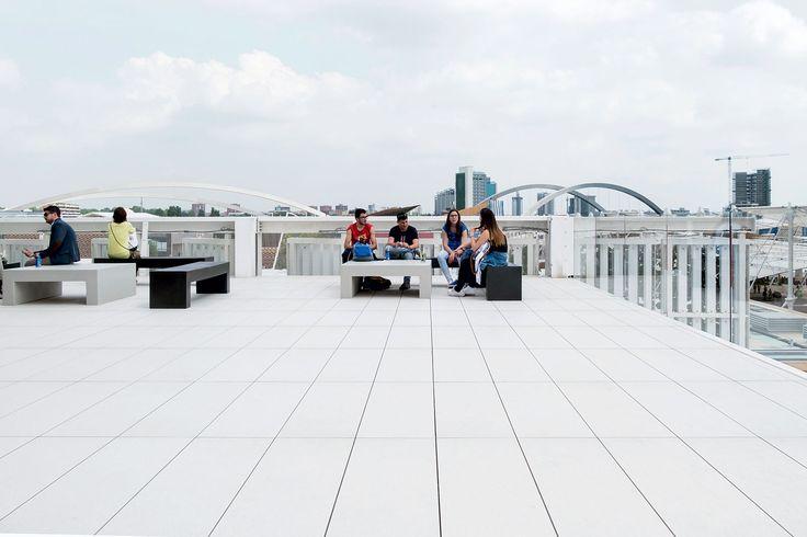 #Marazzi | #Expo2015 | #USApavillion | #SistemN | #porcelain | #tiles | #floor