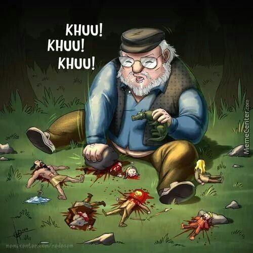 RR Martin Bein' RUDE!! // Game Of Thrones