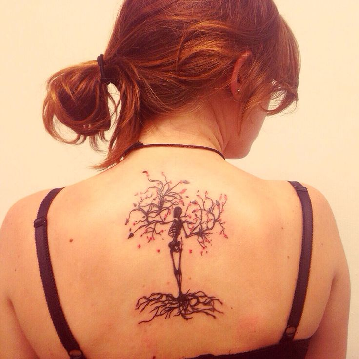 Tree Of Life And Death Tattoo!