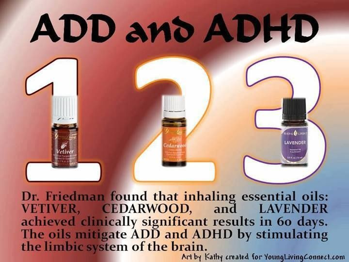 Young Living Member Number: 1505358 Young Living Cedarwood, Lavender,  Vetiver Essential Oils For ADD And ADHD