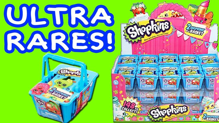 www.youtube.com/user/disneytoybox?sub_confirmation=1 Shopkins Blind Basket Opening with 4 ULTRA RARE Shopkins 20 Blind Bags #Shopkins #Toys