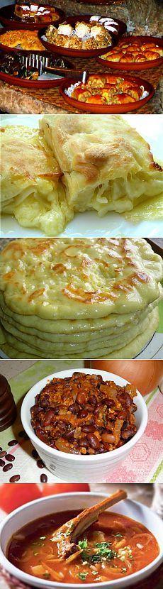 Блюда грузинской кухни.