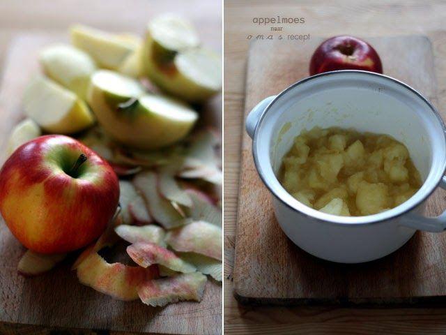 In deze barre tijd mag zelfgemaakte appelmoes natuurlijk niet ontbreken. Appelmoes is lekker bij winterse stamppotten, een hele kip met friet of stoofvlees.In principe kun je appelmoes maken van alle soorten appels. De keuze voor de appelsoort bepaalt wel deels de smaak van de moes. Neem je een zure appel, dan kun je de moes altijd nog zoeter maken. Zelf kies ik daarom altijd zure stevige appels. De Goudreinette staat bekend als goede 'moesappel' vanwege de structuur en zurige smaak. Elstar…