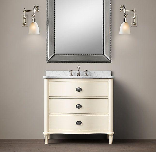 Powder Room Bathroom Vanities: 1000+ Ideas About Powder Room Vanity On Pinterest
