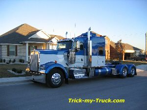Tricked Out Semi Trucks | ... -My-Truck chrome shop | semi truck accessories | truck accessories