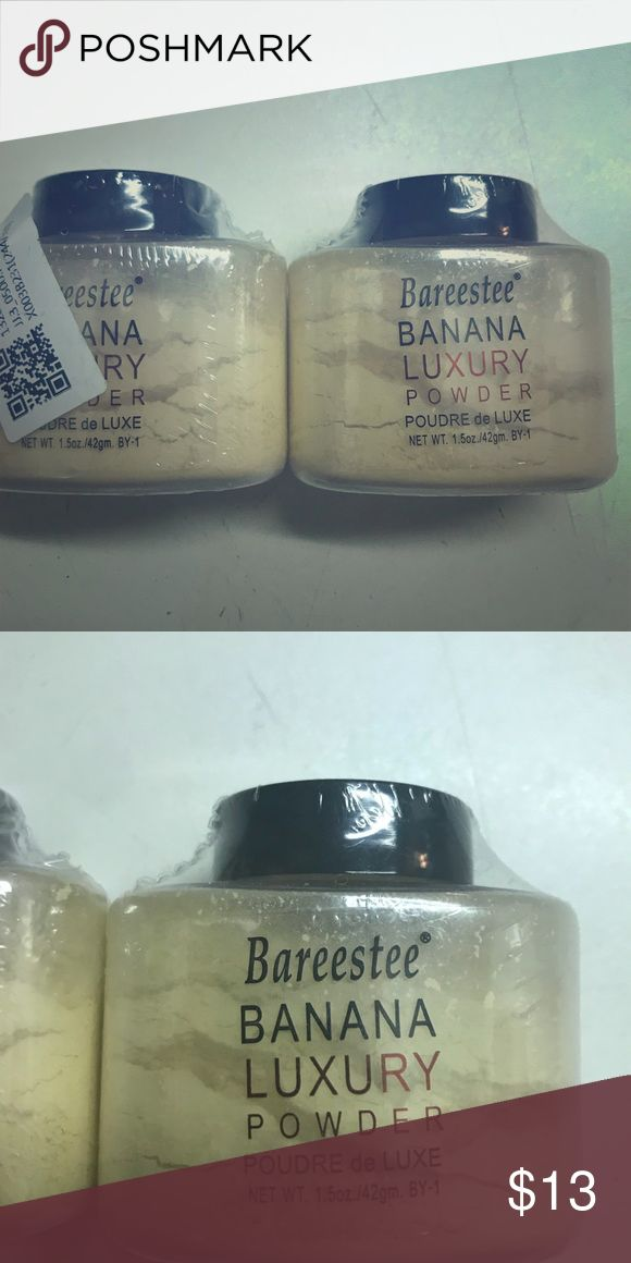 new 2 Bareestee Banana Luxury Powders Brand new 2 Bareestee Banana Face Powder bareestee Makeup Face Powder