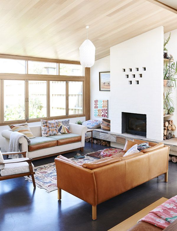 The Melbourne home of Emily Wright and Robert Dabal. Photo by Eve Wilson. Production by Lucy Feagins for thedesignfiles.net