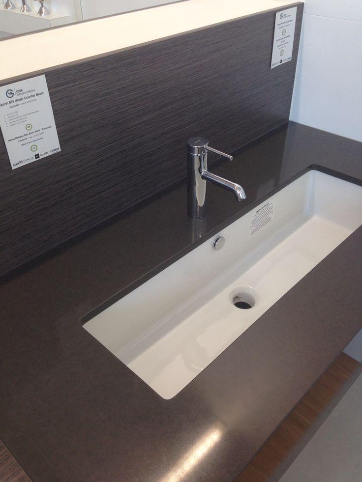Caroma Quinn 875mm under counter basin