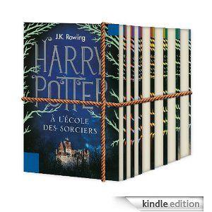 Je veux la collection complète des livres d'Harry Potter avec la nouvelle couverture !