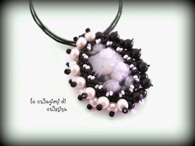 le cr3azioni di cr3stina - gioielli artigianali: Ciondoli con cammeo Hello Kitty