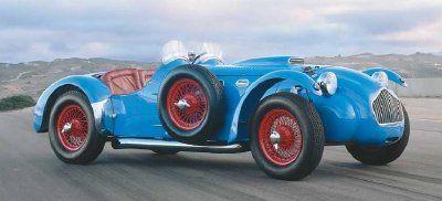 Allard sports car