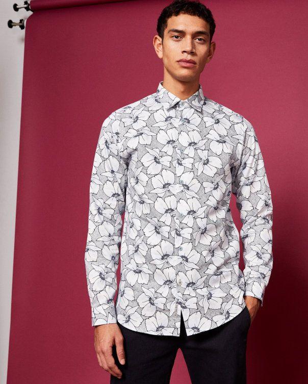 88ab3c69b18b Floral print cotton shirt