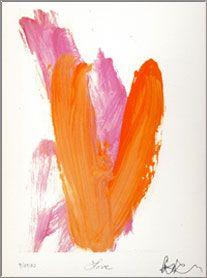 """Koko's painting of """"Love"""""""