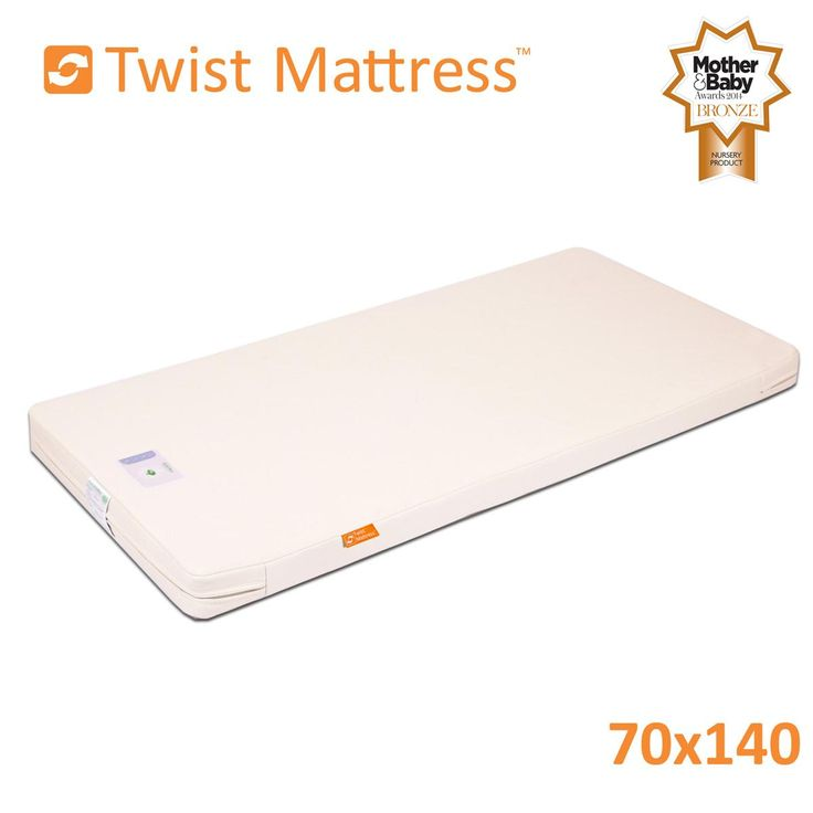 £159 140 x 70 Cot Bed Mattress Twist Natural Latex | Cot Bed Mattresses from The Little Green Sheep, UK