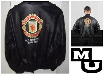 Jual jaket kulit MU online harga murah, custom design. Add pin bbm : d5c80381 free shipping!