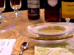 Morotsoppa med crème fraiche (kock Filip Fastén)
