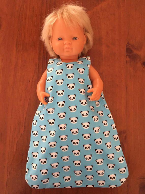 Sleepsack for 38cm Miniland Doll by DebsDollsClothes on Etsy