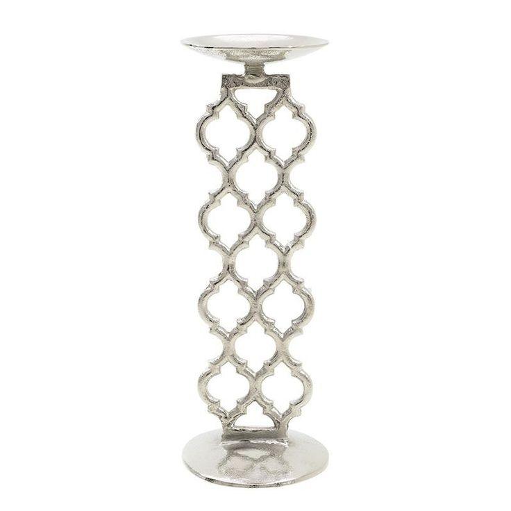 Aluminium Candle Holder - inart
