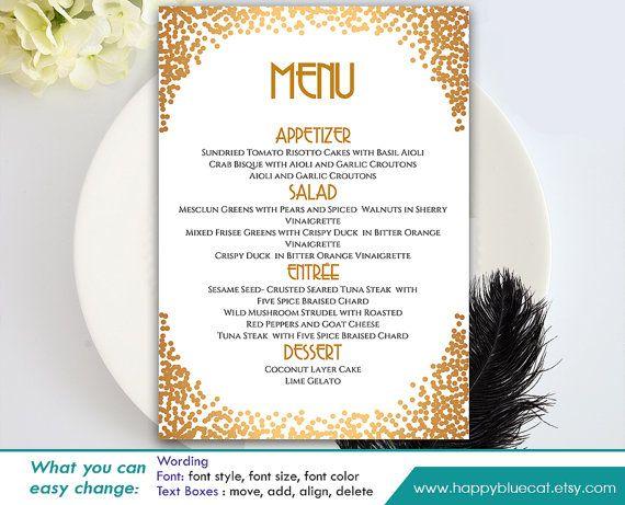1000 id es sur le th me wedding menu template sur pinterest menu de mariage cartes de menu de. Black Bedroom Furniture Sets. Home Design Ideas