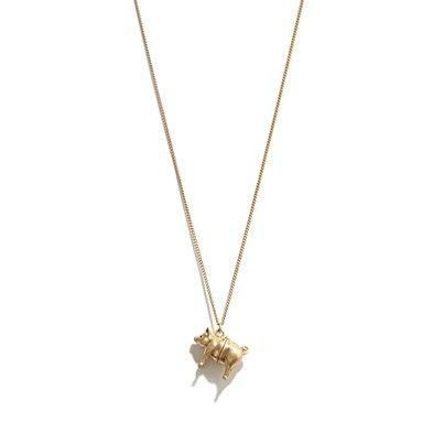 piggie necklace. $35