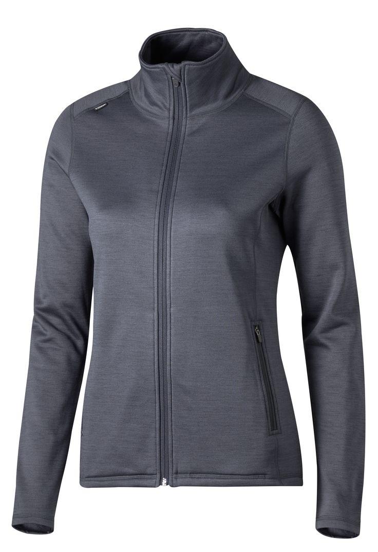 Functional Zip Jacket Women Lämmin toiminnallinen pusero pehmeällä harjatulla sisäpinnalla. • Hengittävä toiminnallinen materiaali • Vetoketjulliset sivutaskut  Koko: XS-XXL Materiaali: 96% polyesteri, 4% elastaani