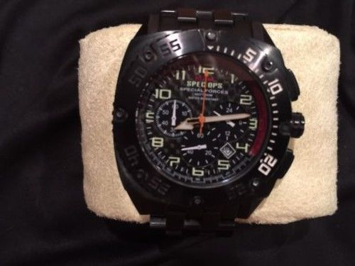 TODAYS HOT DEAL if sold 5/6/17 MTM Special Ops Black Patriot Chrono Titanium