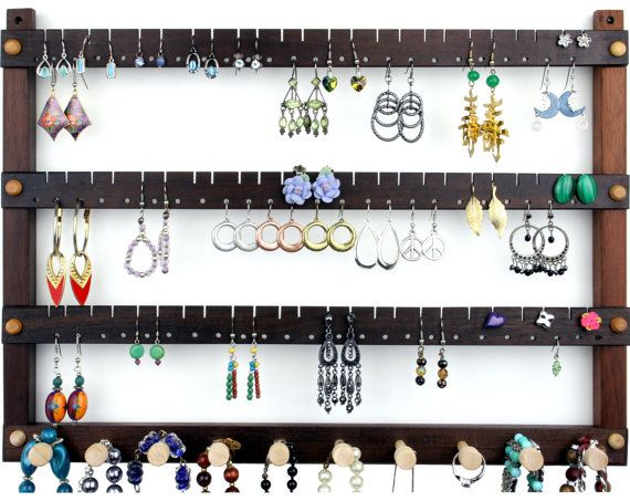 Jewelry Holder  Earring Holder Hanging door TomsEarringHolders, $43.99