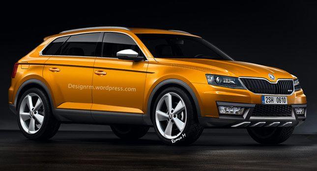 Škoda Nadchádzajúce New Snehuliak SUV digitálne vytvorených - Carscoops