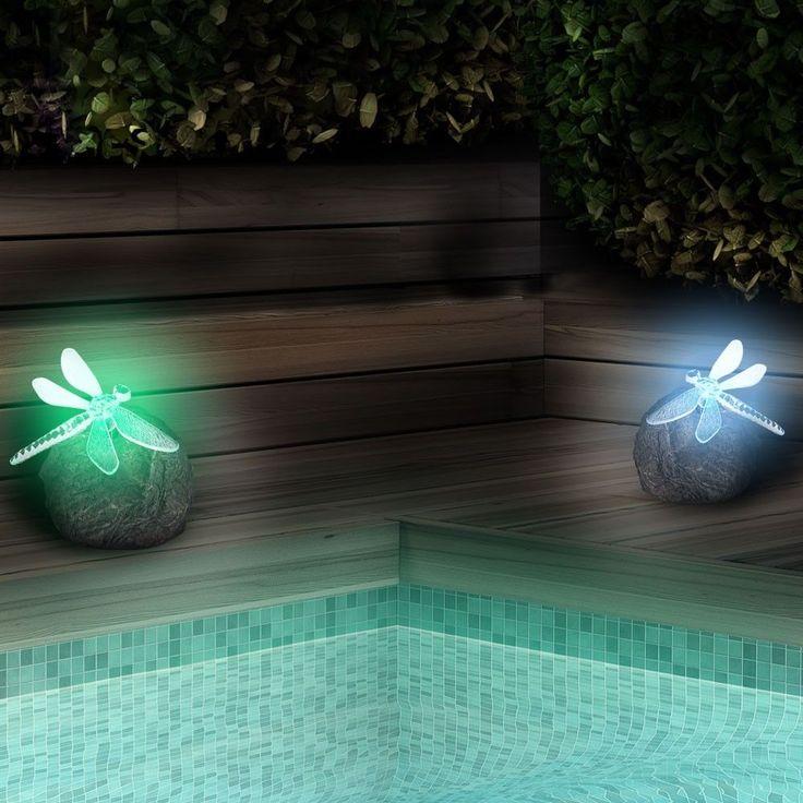 1000 id es sur le th me lampes de jardin solaires sur. Black Bedroom Furniture Sets. Home Design Ideas