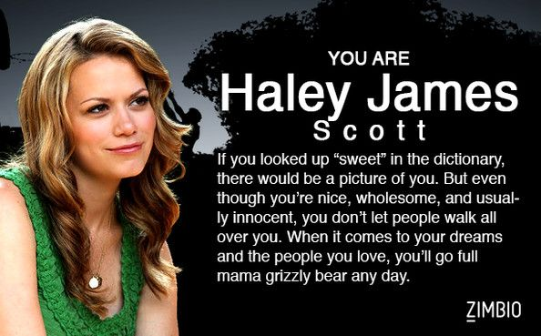 I'm Brooke Davis! Which 'One Tree Hill' character are you?