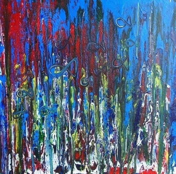 """Beneath"" by Nicky Korneliussen. Paintings for Sale. Bluethumb - Online Art Gallery"