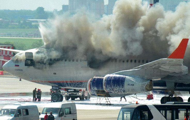 Aeroflot Ilyushin IL-96, nobody on board.