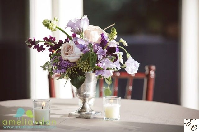Purple wedding | Purple flowers | Designed by Engaging Events