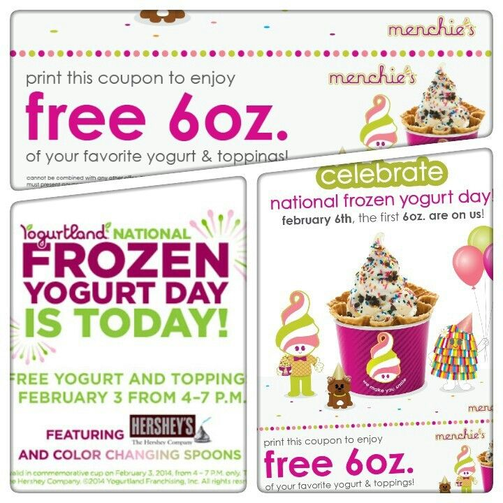 Frozen yogurt coupons sacramento