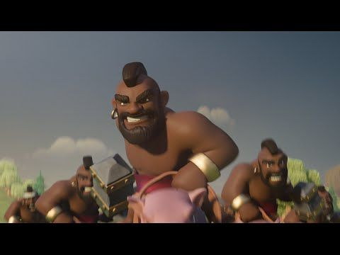 Clash of Clans: Ride of the Hog Riders (Official TV Commercial) - YouTube