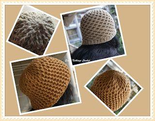 Sweet Nothings Crochet A diamond & a Honeycomb unisex beanie