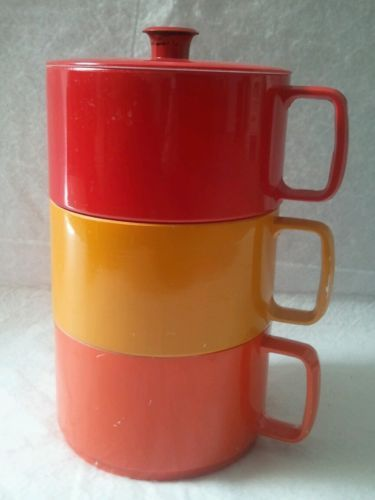 stacking-canisters-containers-plastic-coffee-cup-shaped-mid-century-modern