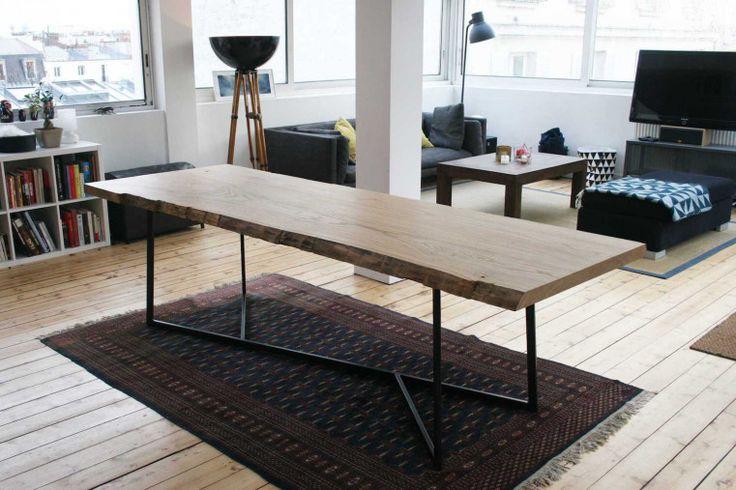 Table live edge Nati