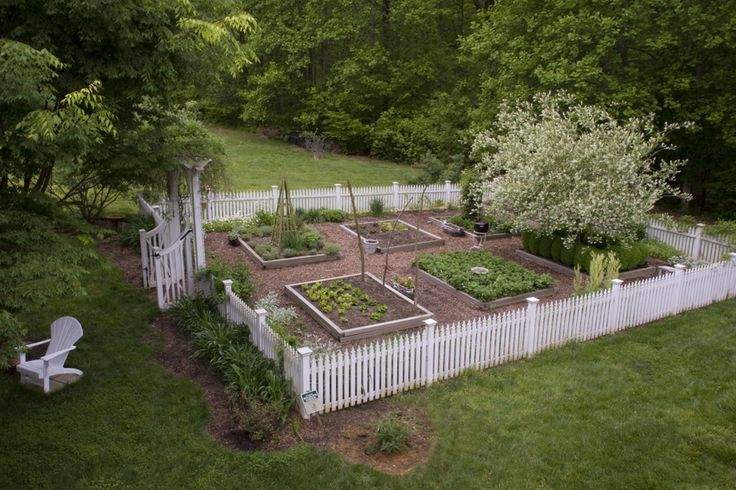 picket fence garden - Google Search