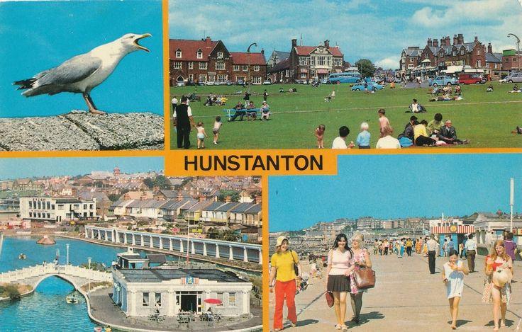 HUNSTANTON in Multi-View used Postcard 1976 | eBay