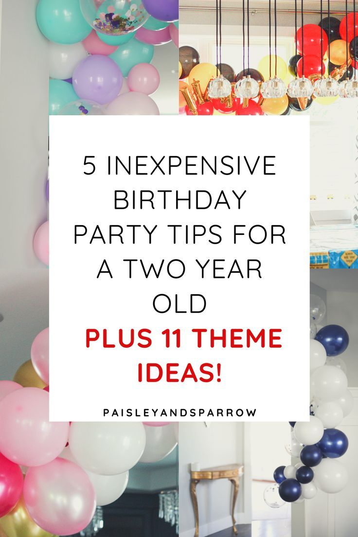 Two Year Old Birthday Ideas Party Themes Tips Paisley Sparrow 2 Year Old Birthday Party Boy Birthday Party Themes Toddler Birthday Party