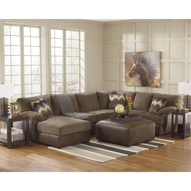 good quality living room furniture%0A Signature Design by Ashley Cladio Left Sectional  Cozy Family  RoomsSignature DesignSectional SofasGreat DealsLiving Room