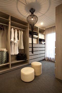 Closet center piece. Lorne 302 Display Home - contemporary - Closet - Melbourne - Hotondo Homes