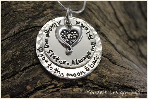Silver personalised pendant by YONDALE DESIGNS