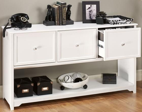 Oxford 3-Drawer File Cabinet - File Storage - File Cabinets - Office Furniture | HomeDecorators.com