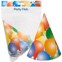 Spray paint inexpensive party hats orange to look like traffic cones.  Bulk Balloon-Design Party Hats, 8-ct. Packs at DollarTree.com