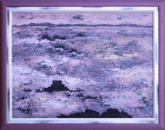 Painting UNQUIET SEA