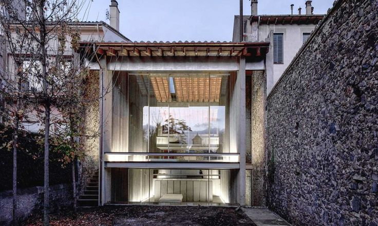 Row House by RCR Arquitectes, photographed by Hisao Suzuki